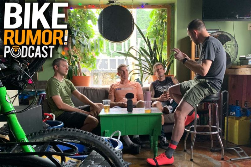 podcast interview with Defeet about aero cycling socks and Shimano about GRX gravel group for gravel bikes