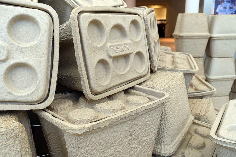 recycled compostable cardboard coolers from igloo