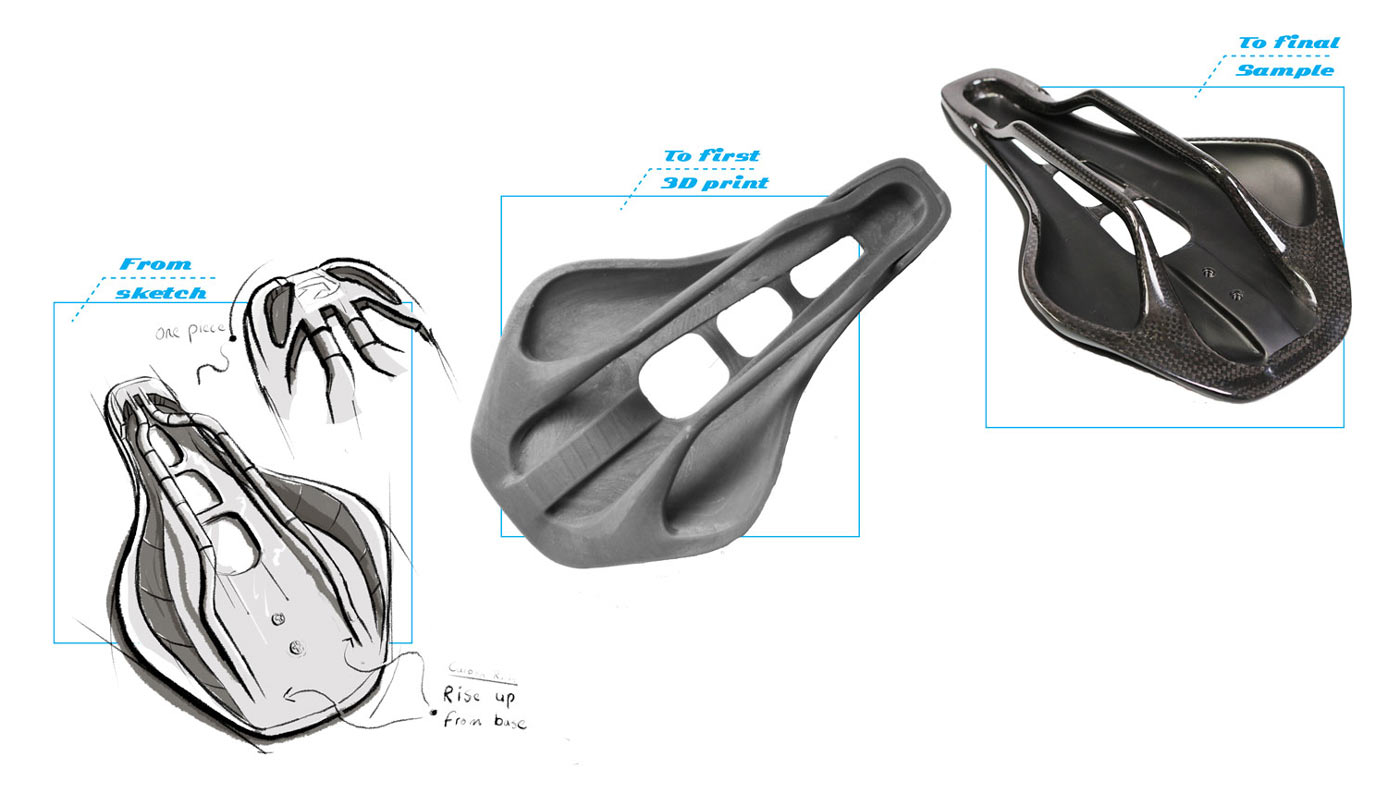 PRO Stealth Superlight saddle gets one-piece carbon rail & shell structure