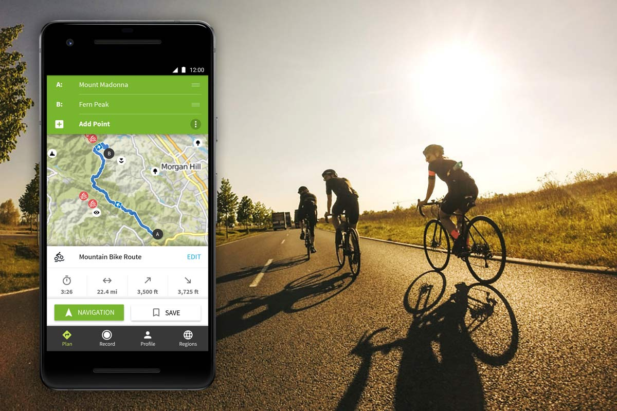 what is the best app for cycling navigation and route planning