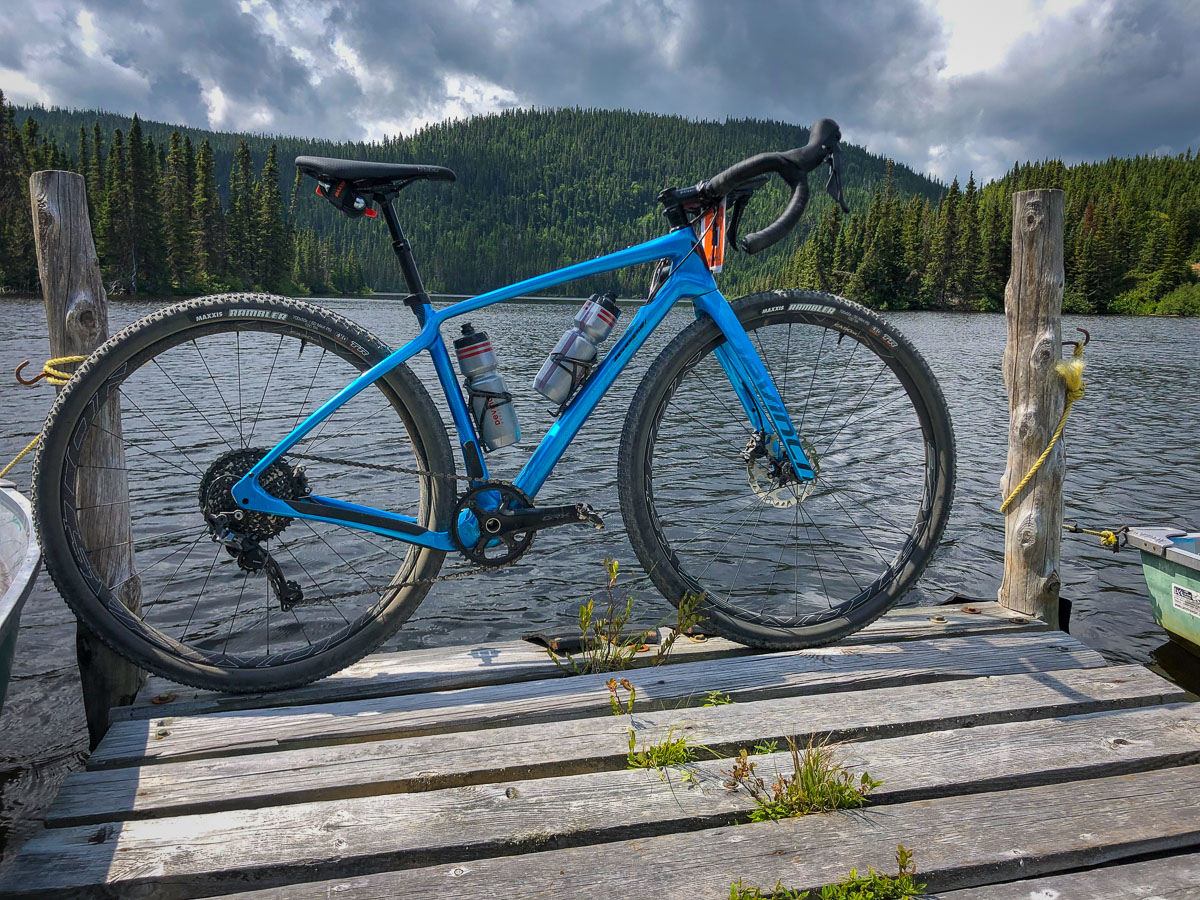 First Ride: Devinci Hatchet makes quick work of Grinduro Canada w/ big tires and a dropper