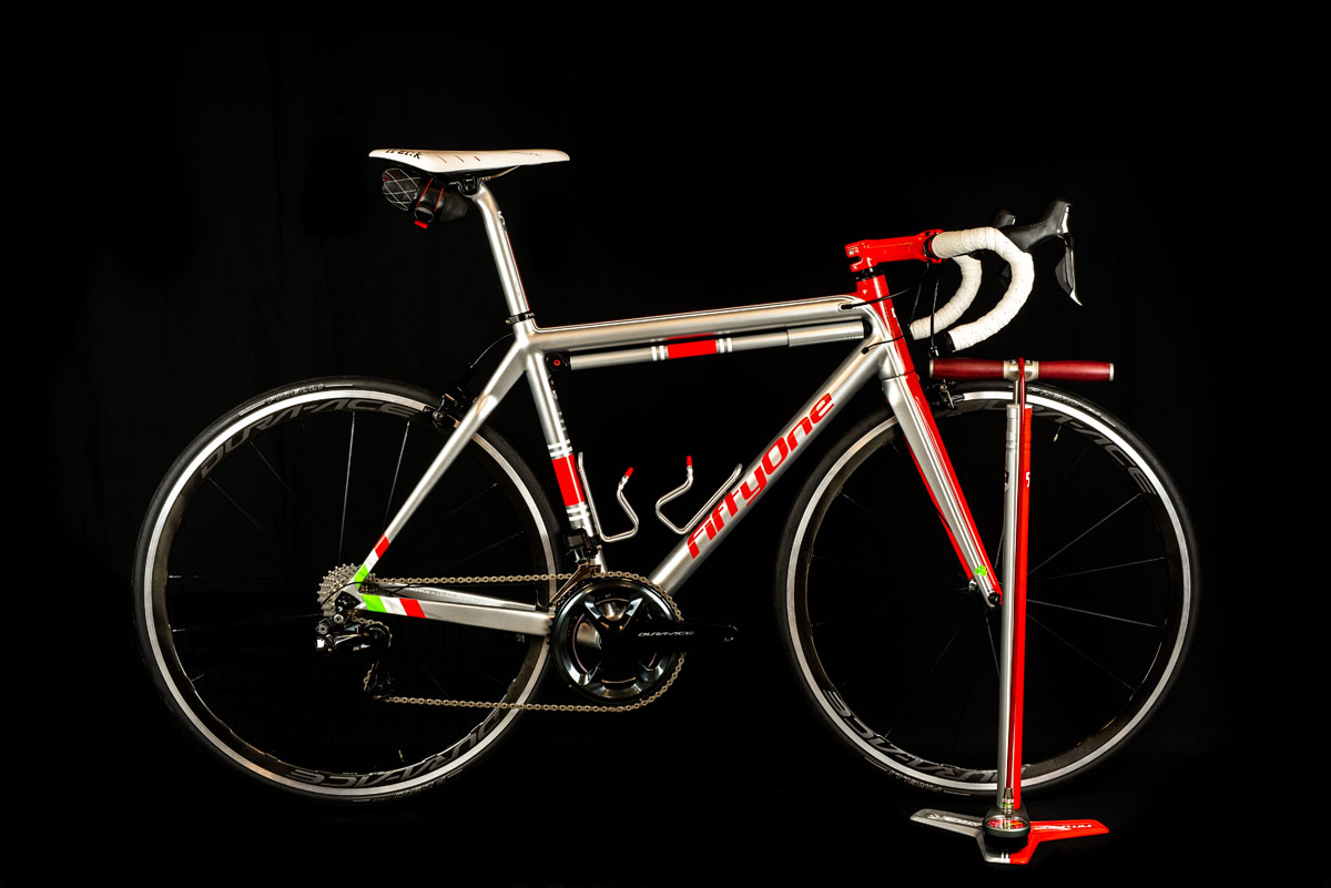 Support People for Bikes & win a custom FiftyOne Silca