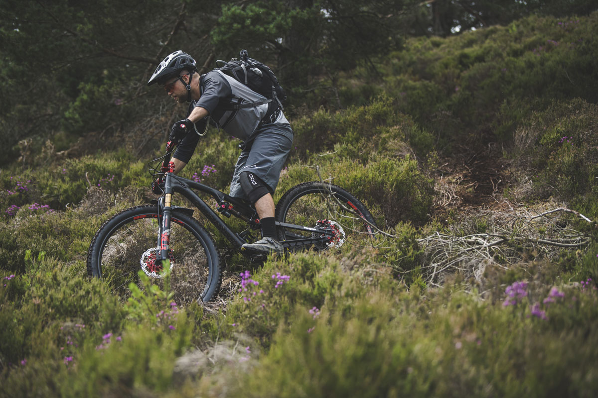 First Ride: Attempting to tame the Scottish Highlands on the new Hope HB.130