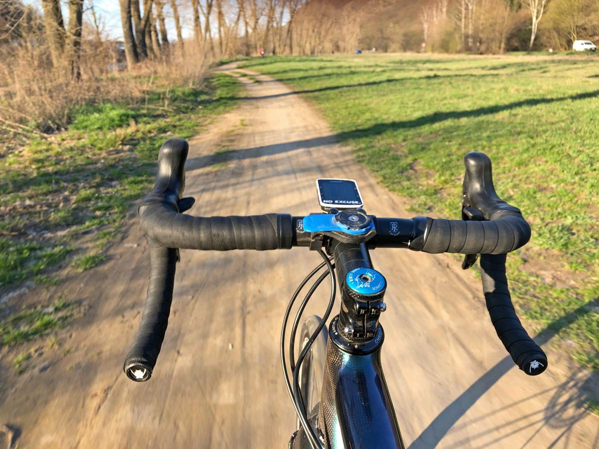 Komoot ride mapping route finding review, gravel bike exploring