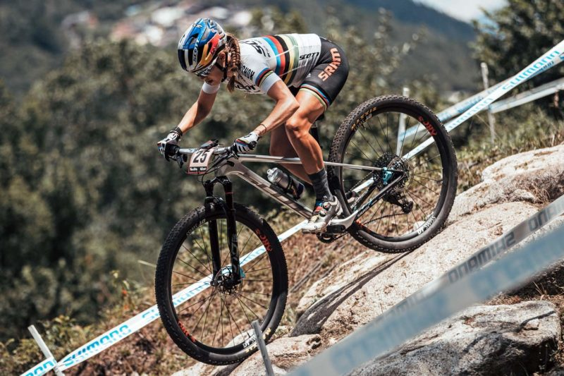 XC Tech Training with World Champ Kate Courtney