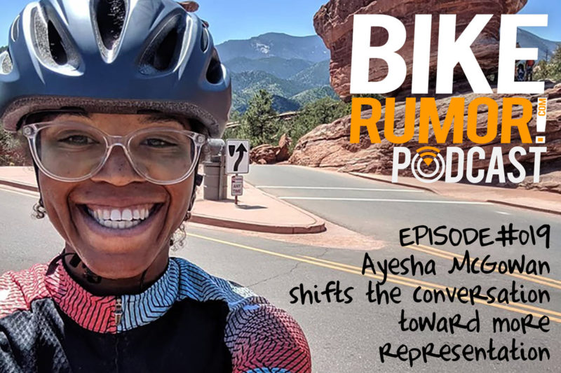 interview with pro african american female cyclist ayesha mcgowan about why more people of color need to be in cycling