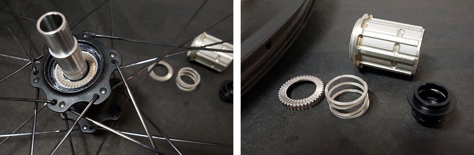 what are the mavic id360 ratchet ring internals used in enve carbon road bike hubs