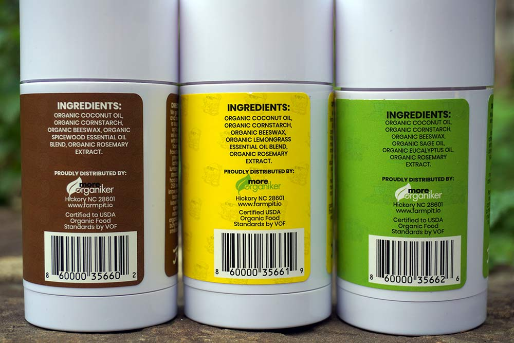 farmpit natural deodorant with organic ingredients that actually works
