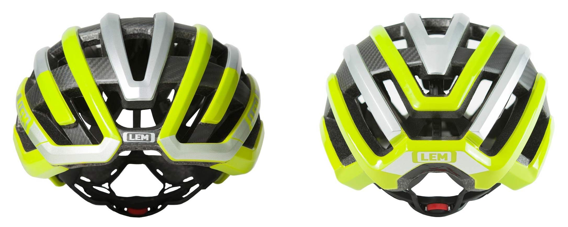 LEM motiv air uses a carbon fiber skeleton to product a lightweight road bike helmet for gravel and XC riders too