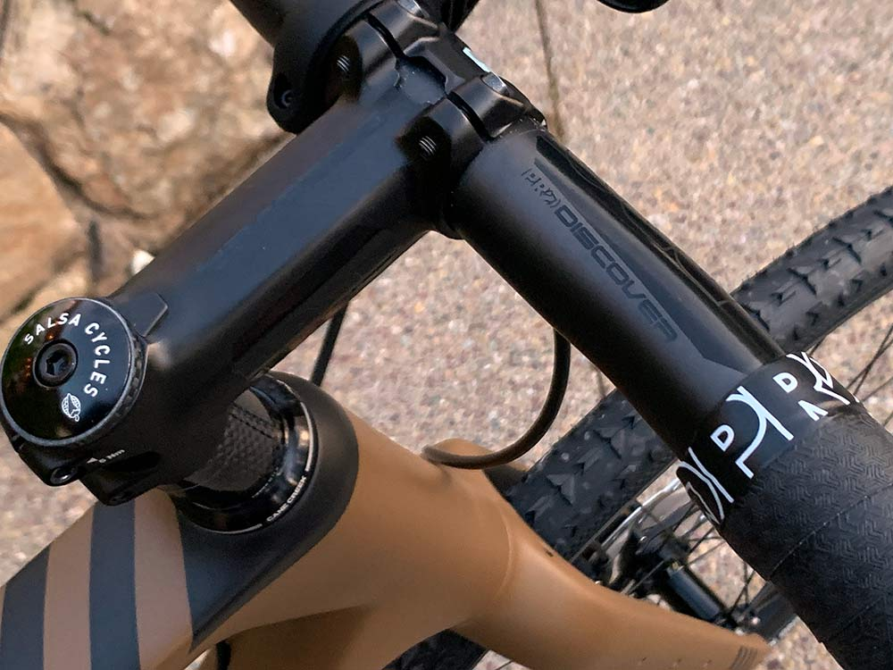 shimano pro discovery carbon fiber handlebar and seatpost for gravel bikes