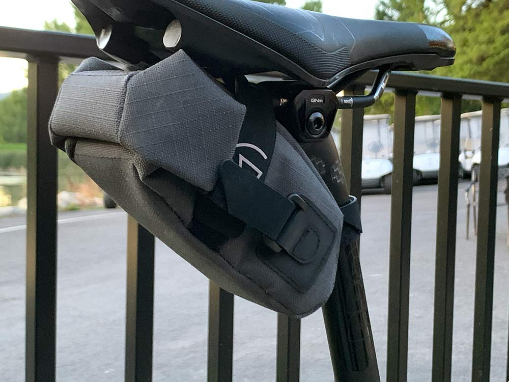 spy shots new shimano pro component carbon fiber gravel handlebar and seatpost with smaller frame bags