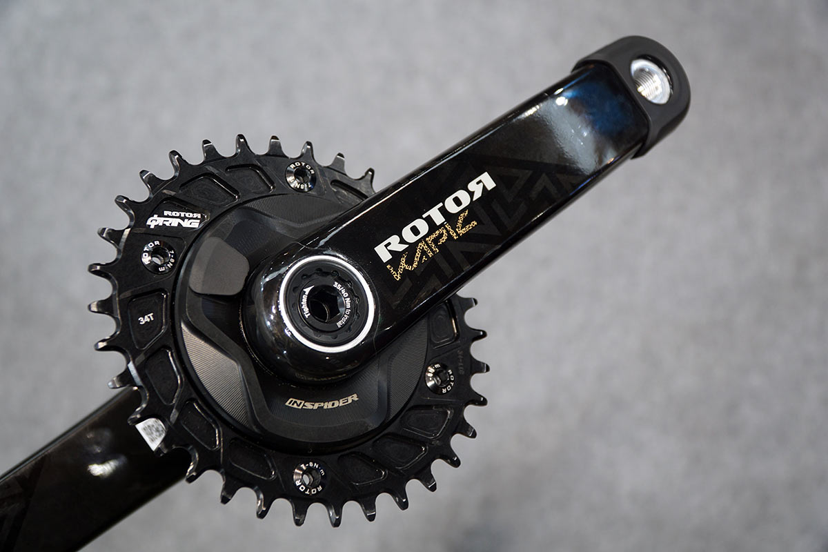 Rotor InSpider power meter for mountain bikes