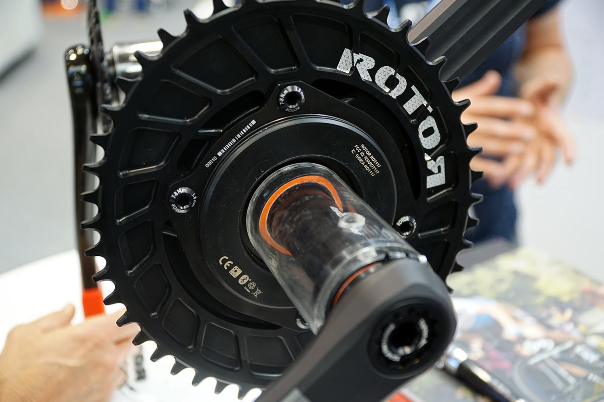 Rotor InSpider power meter for road gravel cyclocross and mountain bikes