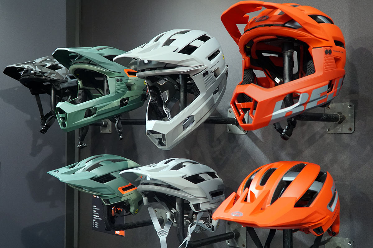 """Bell shows new, lighter Super Air R; debuts goggles & teases """"ridiculous"""" road helmets"""