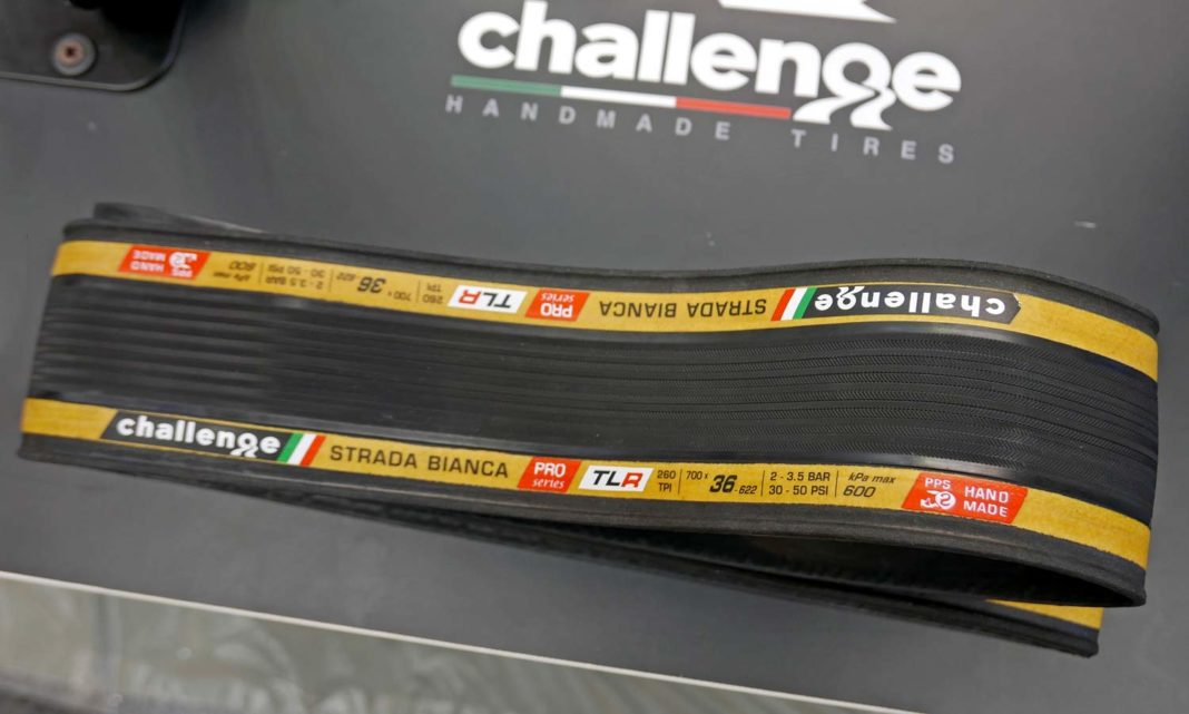 Challenge Handmade Tubeless Ready tires HTLR, road gravel tires