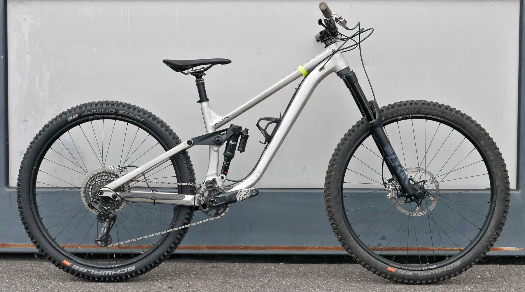 Privateer 161 mountain bike, 161mm travel aluminum aluminium alloy enduro EWS trail MTB prototype