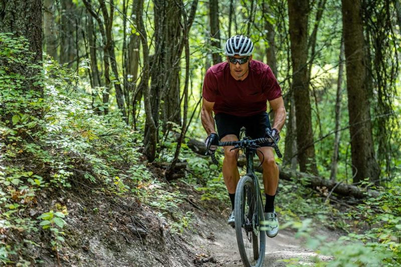 first ride review of the shimano grx di2 gravel road bike group