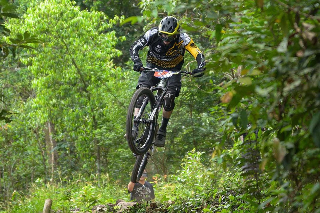 enduro mountain bike race in changmai thailand shows off where to ride mtb trails in asia