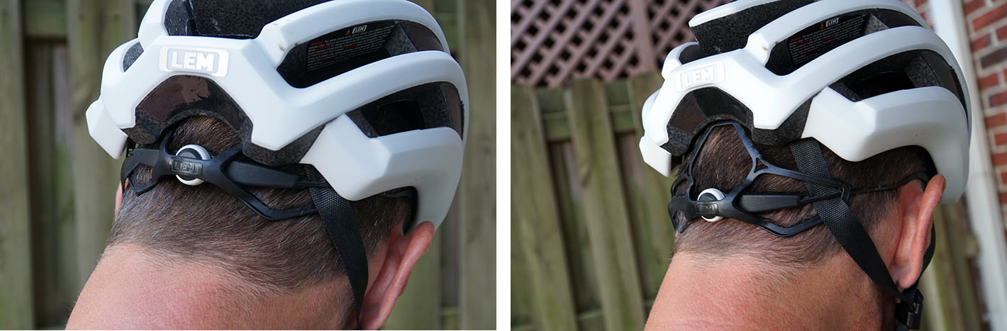 which helmet will fit a ponytail through the back