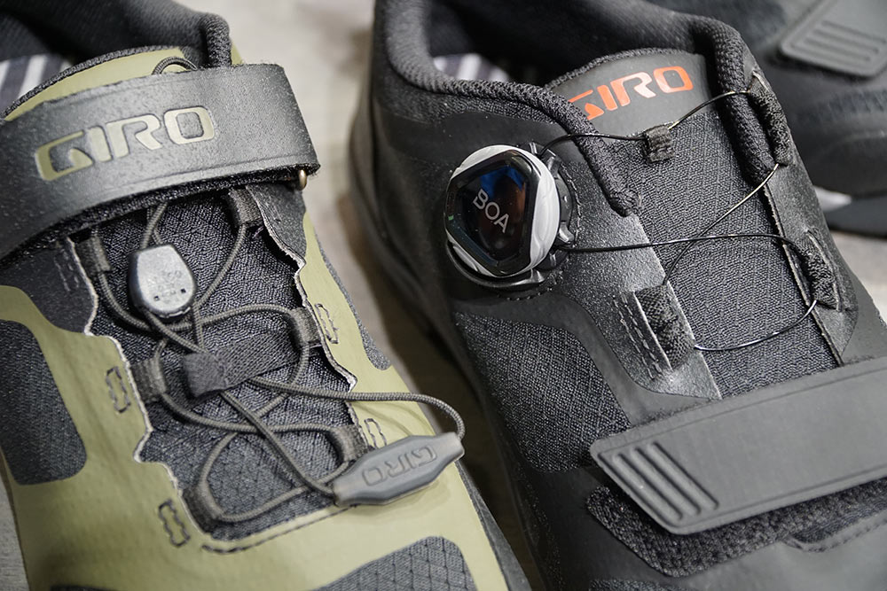 Giro Ventana Trail shoe get lightweight flexible uppers for all day riding comfort