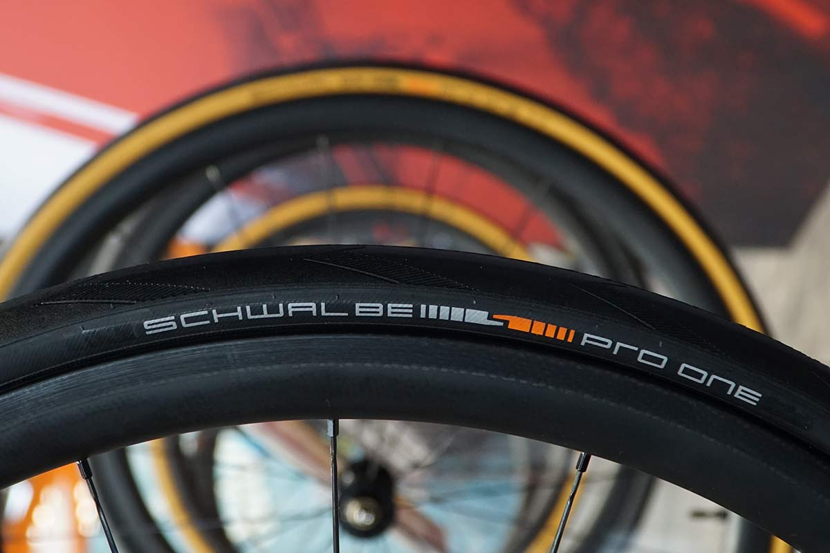 new schwalbe pro one tubeless road bike tires are faster than tubulars