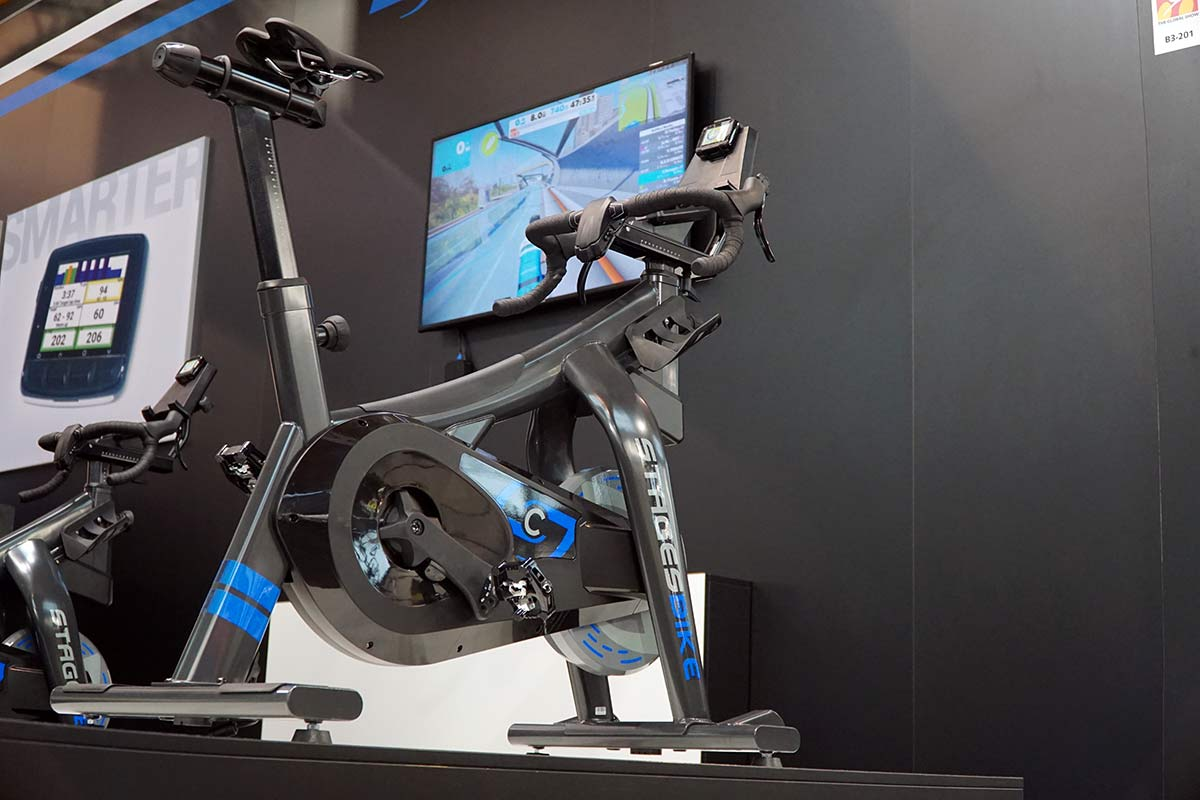 stages bike indoor stationary cycling trainer for serious cyclists and triathletes
