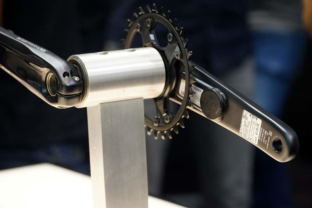 can i get a power meter for shimano xt and xtr 12 speed mountain bike cranksets