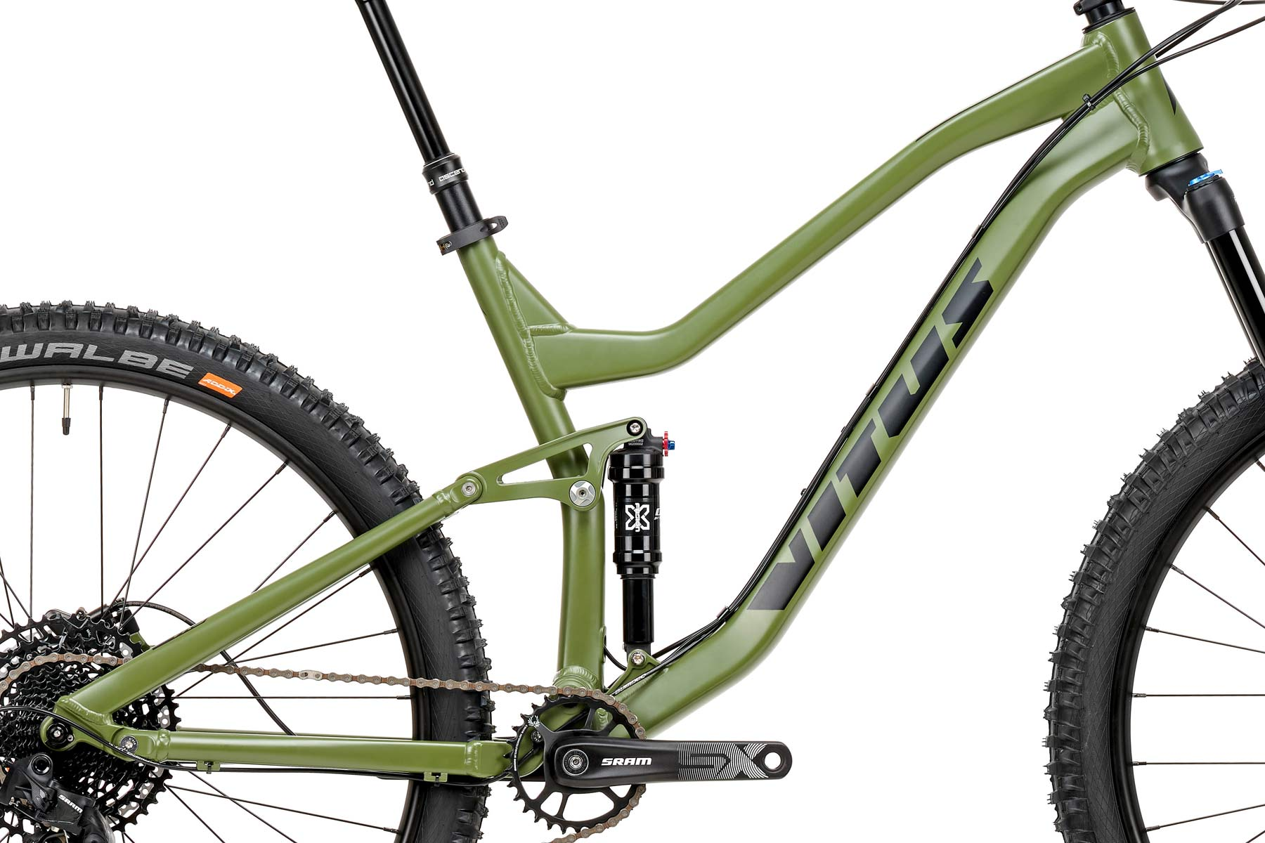 2020 Vitus Mythique trail bike, affordable aluminum alloy aluminium trail mountain bike, 130mm or 140mm travel, 27.5