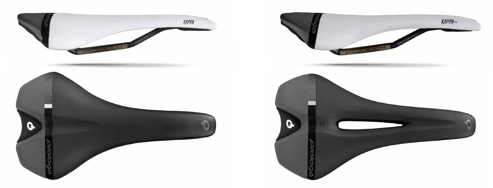 prologo kappa is an affordable gravel bike saddle with or without a center relief cutout channel