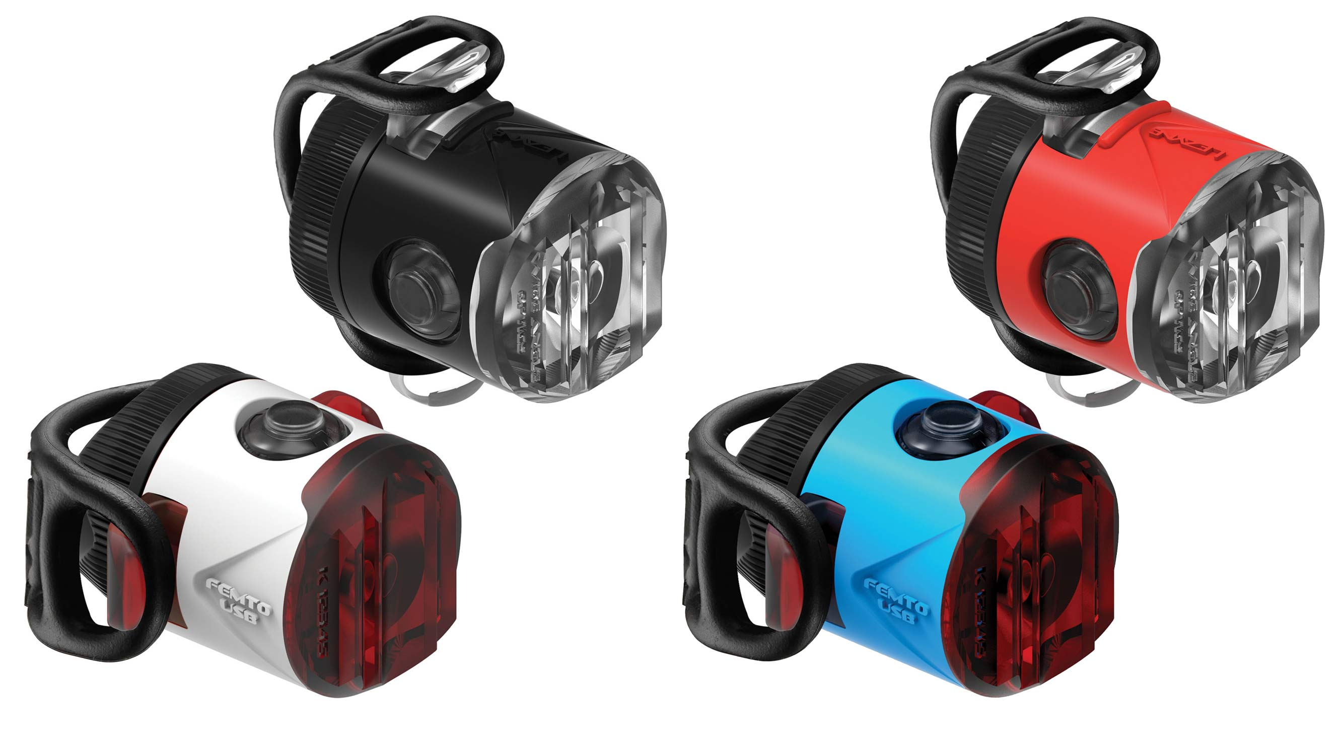 Lezyne Femto USB Drive, rechargeable mini blinkie light refresh