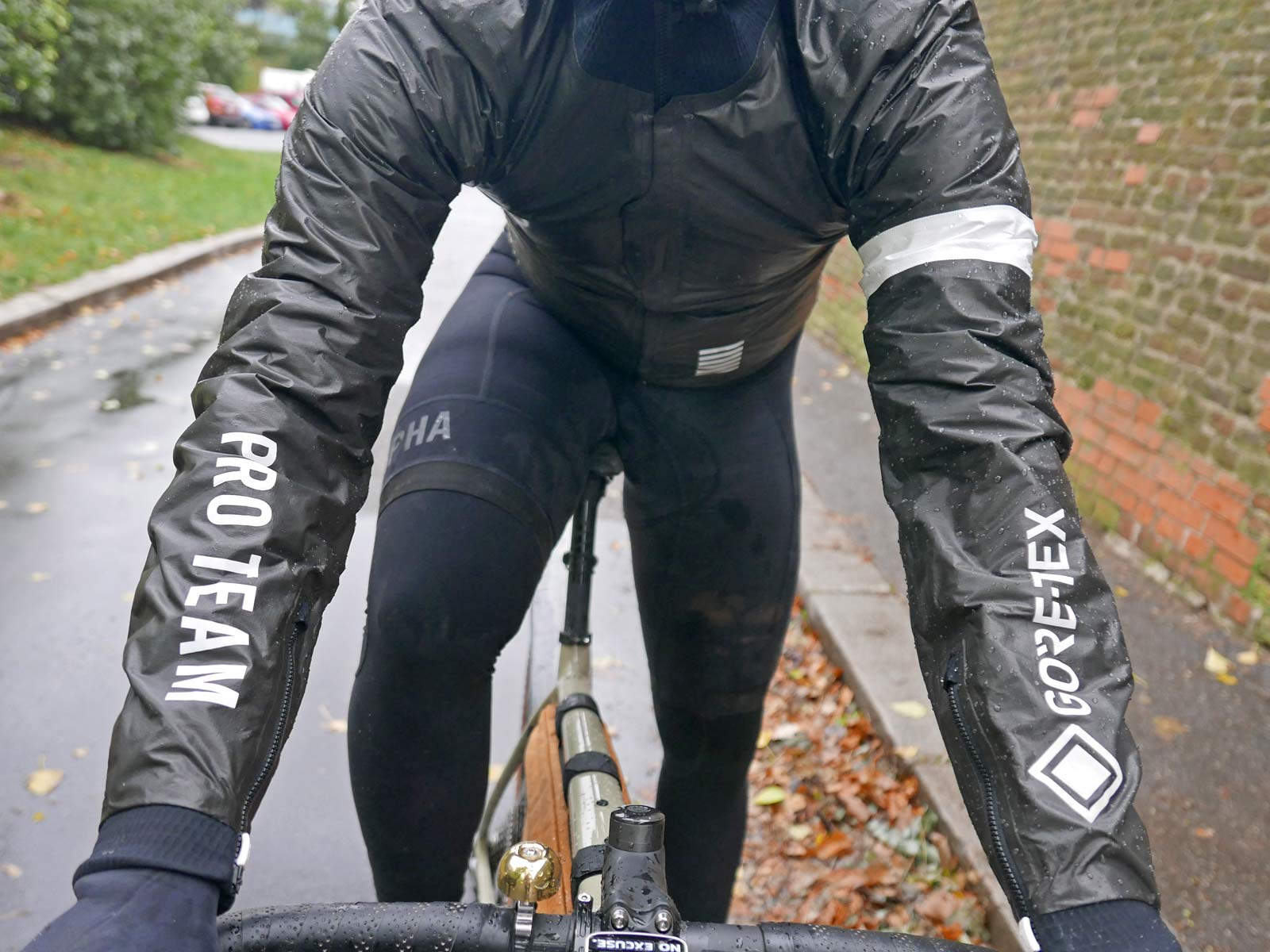 Rapha Pro Team Insulated Gore-Tex jacket, insulated waterproof Gore Shakedry Polartec Alpha wet & cold weather jacket