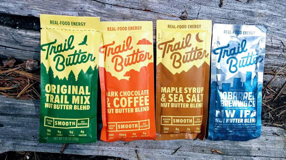 Trail Butter NW IPA Nut Butter Blend ride nutrition for a limited time India Pale Ale flavored ride snack