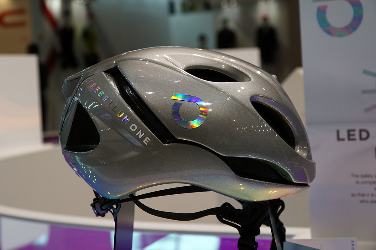 Briko Cerebellum One smart cycling helmet monitors your surroundings, hydration, phone and safety in real time