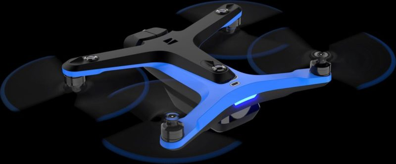 skydio 2 4k action cam drone can automatically follow you anywhere