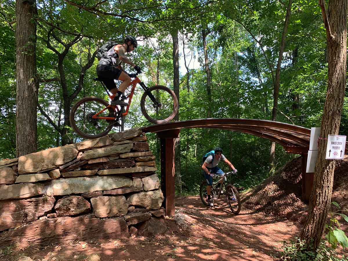 where to ride mountain bikes in knoxville tennessee
