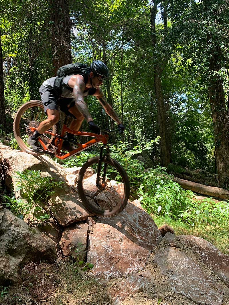 where is year round get down mountain bike trail in knoxville