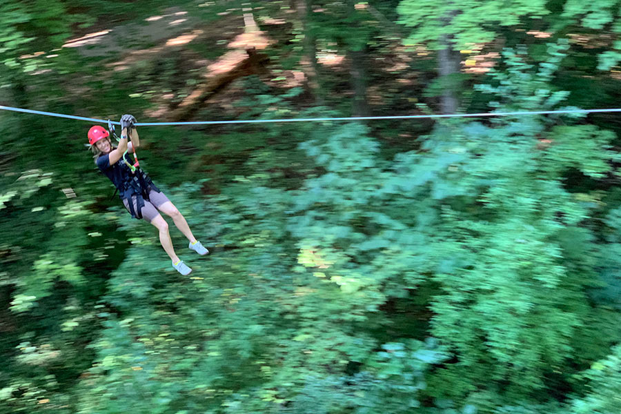 navitat high ropes course review in knoxville tennessee urban wilderness