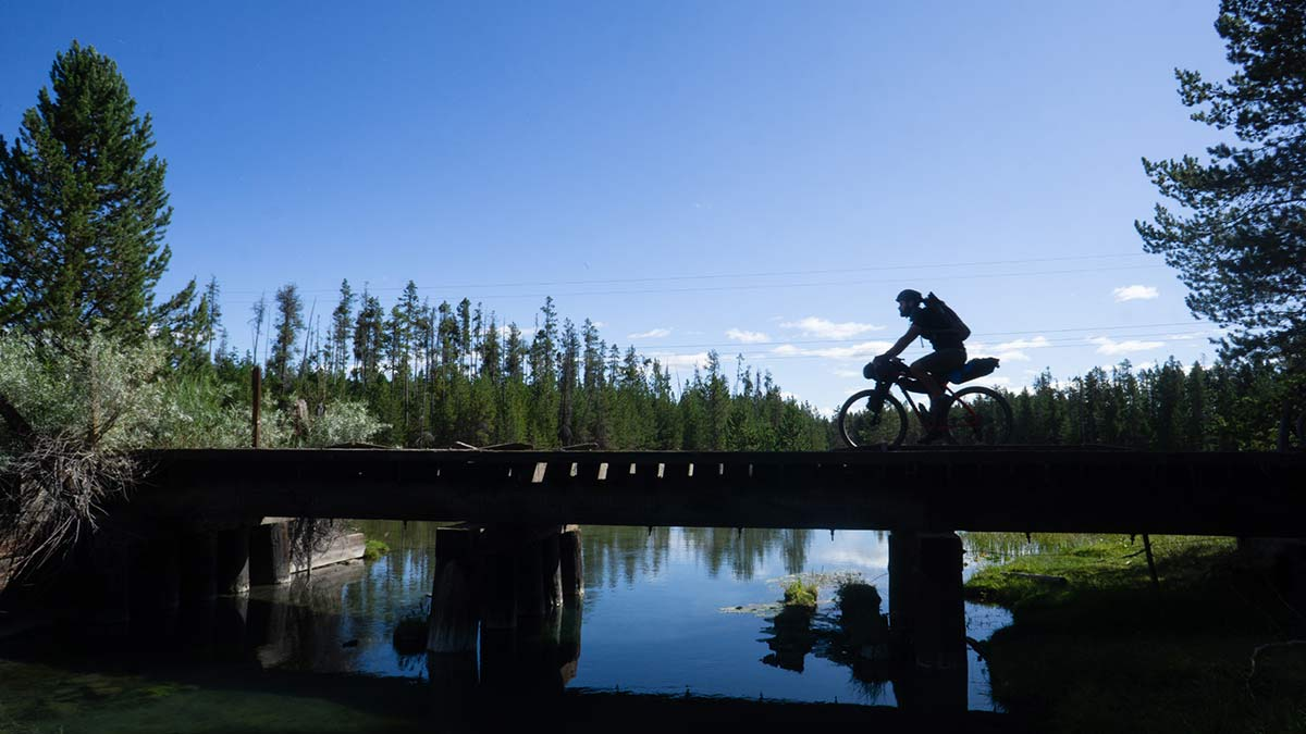 how to plan a bikepacking trip for fly fishing in Idaho