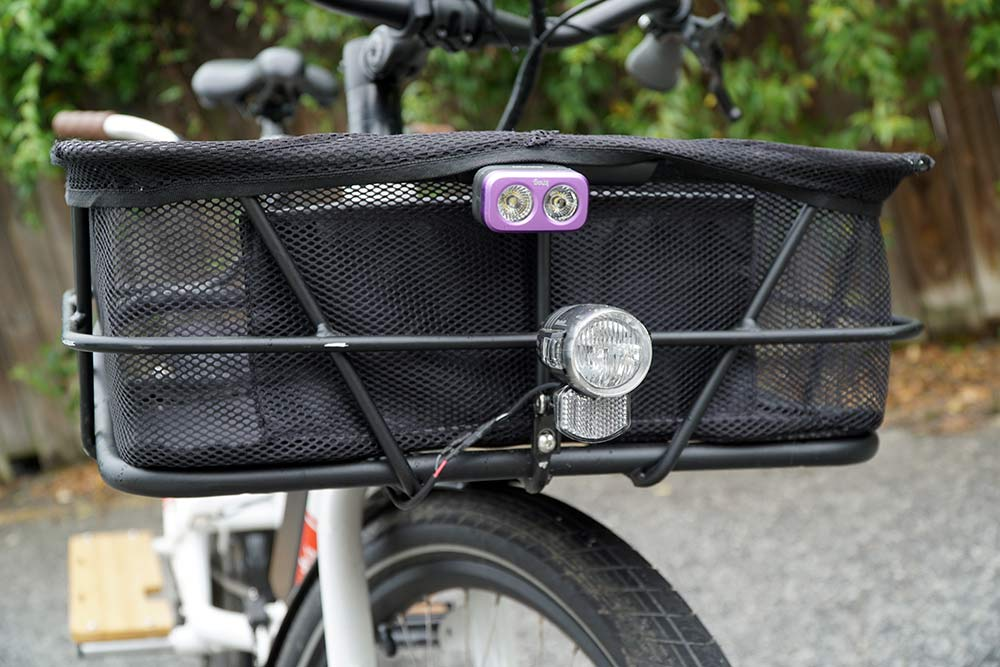 do I need a front basket on my cargo bike