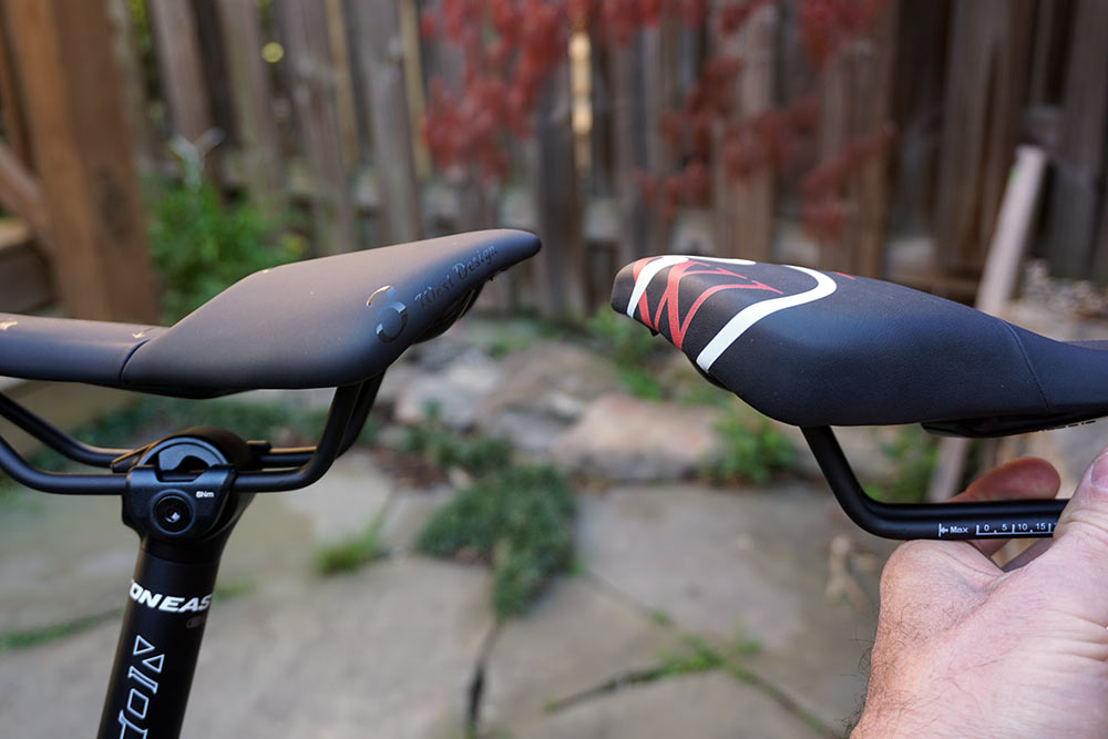 3west design womens bike saddle with center drop section for pressure relief