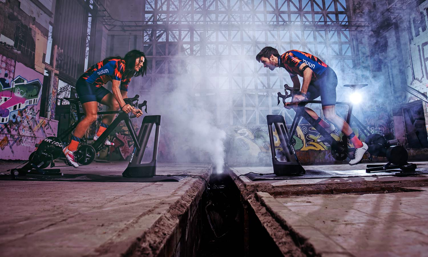 Canyon officially approves a number of bikes for turbo trainer usage, Canyon ZCC eRacing team indoor training, photo by Rene Zieger