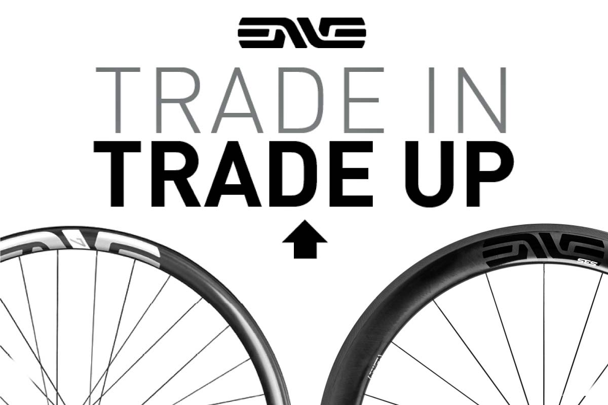 ENVE Trade-In, Trade-Up limited time carbon wheel upgrades