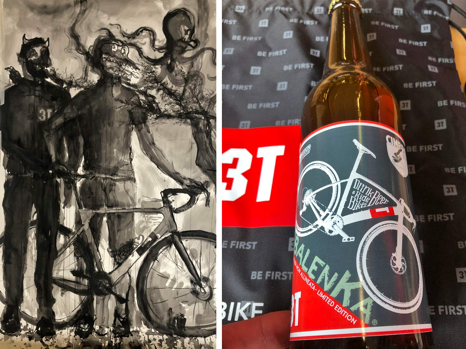 Inside 3T Cycling Factory Tour, How 3T Torno carbon cranks are made by hand, 100% made-in-Italy art & beer