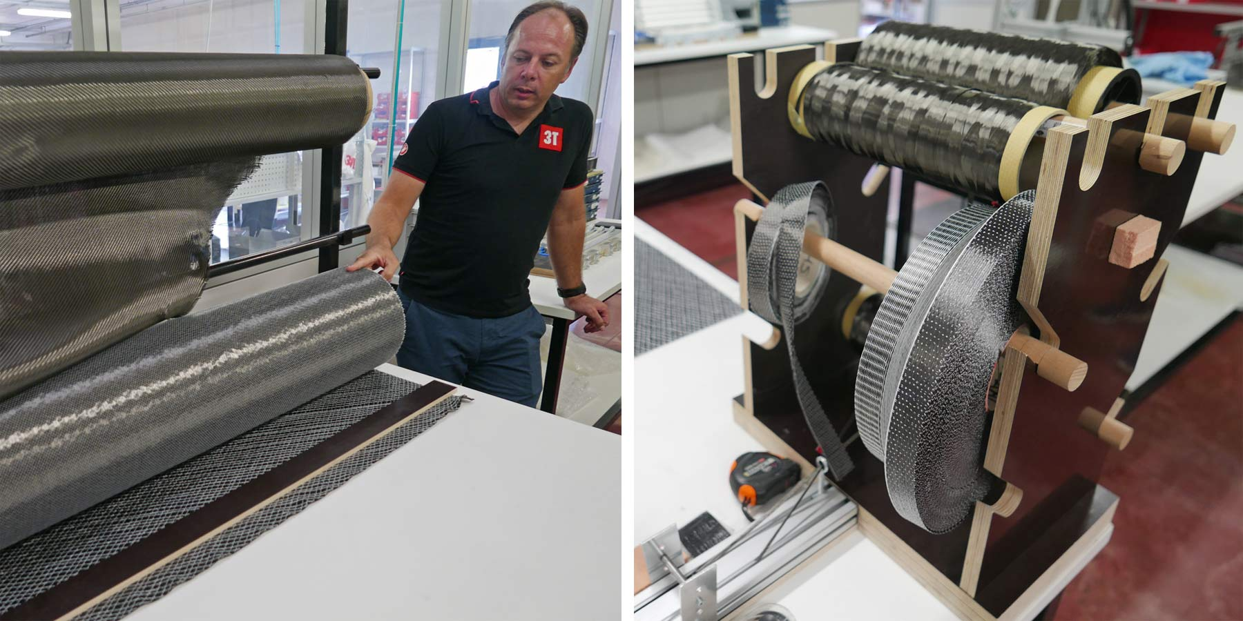 Inside 3T Cycling Factory Tour, How 3T Torno carbon cranks are made by hand, 100% made-in-Italy