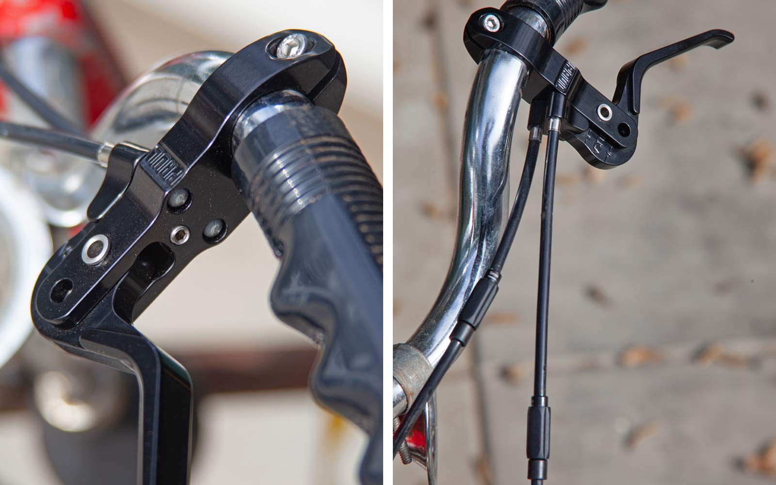 Paul Duplex brake lever, US-made CNC machined double brake lever, 2 brakes 1 lever
