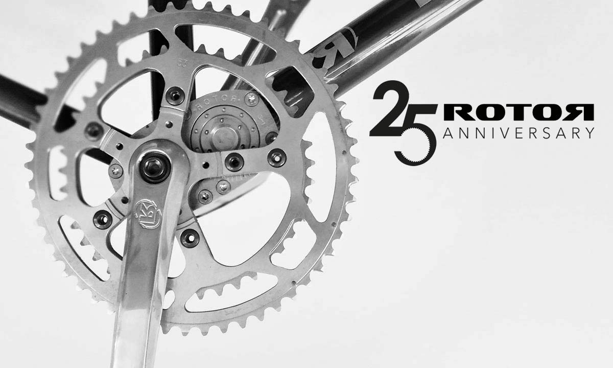 Act fast, Rotor is giving away oval Q Rings to celebrate 25 years of drivetrain innovation