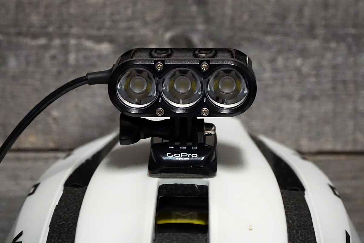 how to change the beam pattern on Gloworm XSV mountain bike light with interchangeable lens elements