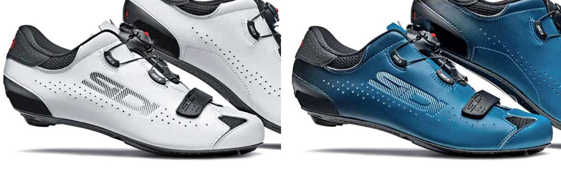 2020 Sidi Sixty carbon road shoes, lightweight high-performance carbon sole road bike shoes Sidi 60th anniversary edition