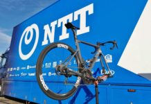 NTT Pro Cycling, smarter professional road bike team through big data analytics AI machine learning