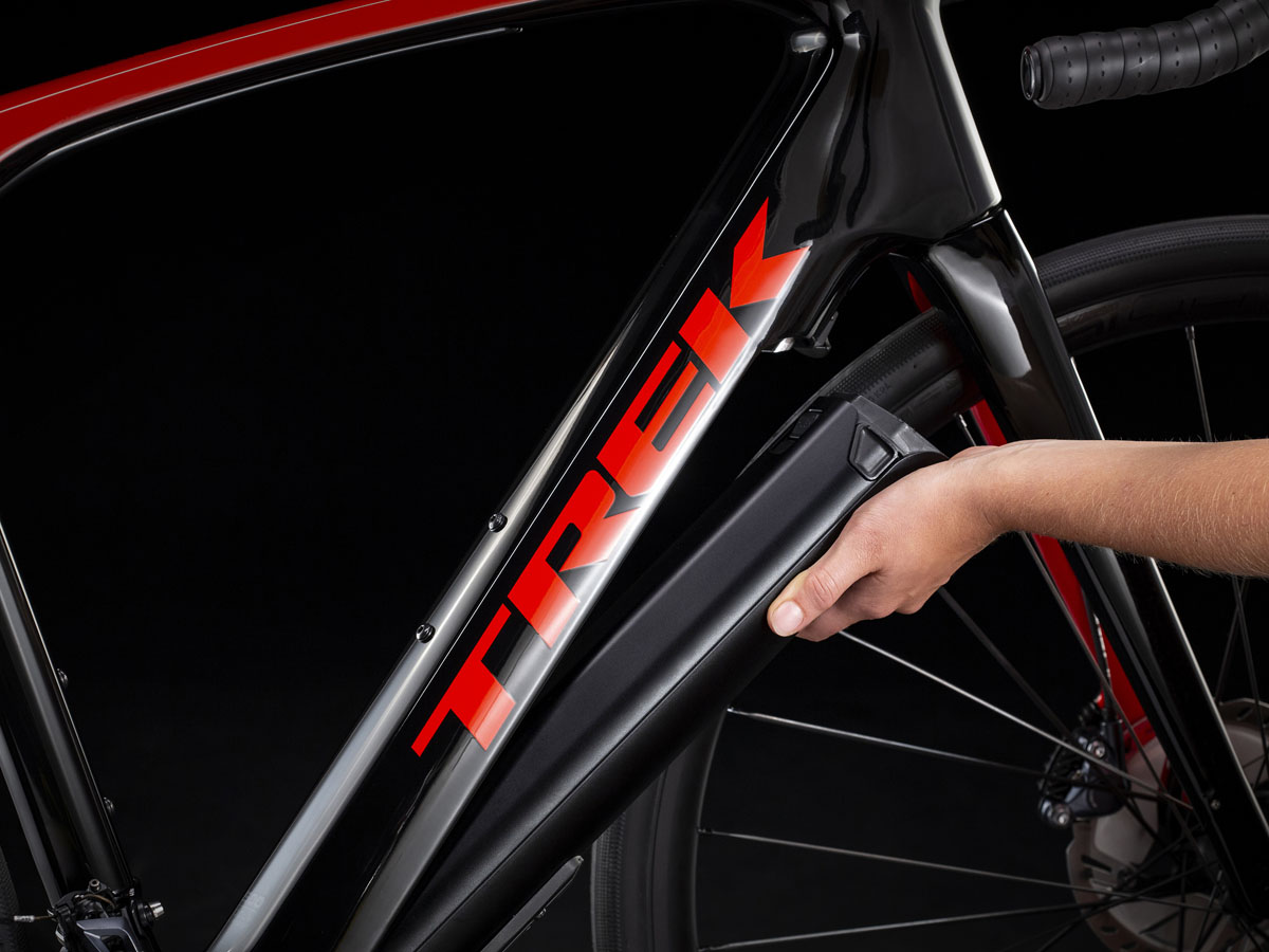 Trek Domane+ LT powers up Fazua drivetrain for sub 30lb e-bike for the road